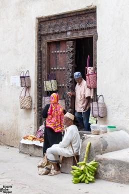 Arab Door, Stone Town, Zanzibar