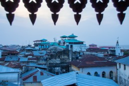 Sunset time at Emerson Spice in Stone Town, Zanzibar