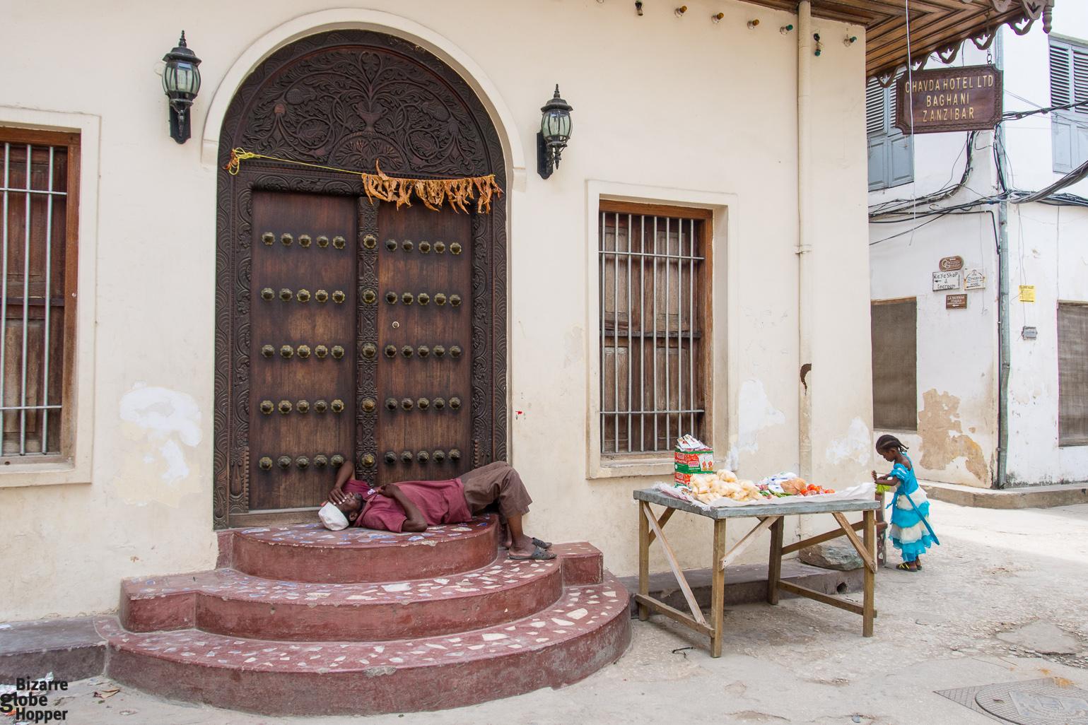 Indian Door Stone Town Zanzibar & The Doors of Stone Town Zanzibar \u2013 Bizarre Globe Hopper