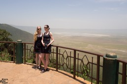 View to Ngorongoro crater, Tanzania