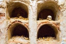 Funeral Crypt in Muralla Punica Museum, Cartagena