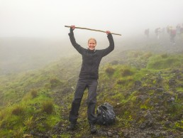 Conquering the Nyiragongo volcano summit in Congo DR
