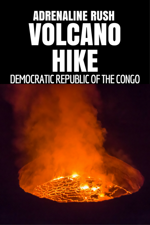 Take part in our grueling climb into the mouth of Hell! Nyiragongo volcano in the Democratic Republic of Congo boasts the world's biggest active lava lake. We overnighted just upon the fiery caldera with armed rangers.