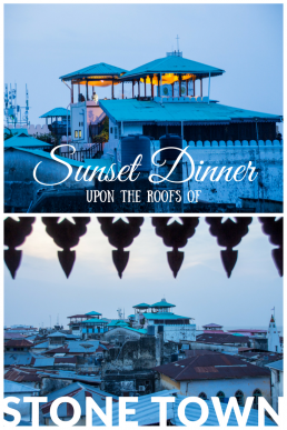 Admire a dreamy sunset over the roofs of Stone Town while sampling a creative 5-course tasting menu. Prayer calls linger in just before the darkness falls.
