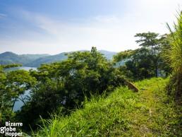 Hike around Nyinambuga Crater Lake in Uganda