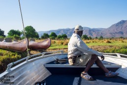 Switching from a motor boat to a canoe – so exciting!