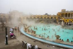 Visit Szechenyi Baths in Budapest