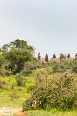 The ruins of Idi Amin's favorite safari lodge lurk inside Murchison Falls National Park