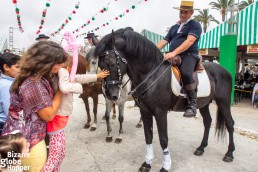 Feria de Sevillanas brings in Andalucian horses, carriage drives for kids, and vibrant dance called