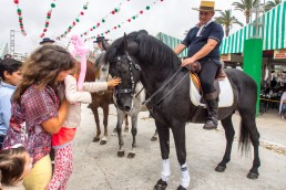 Both kids and adults love Feria de Sevillanas Carneval!