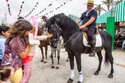 Both kids and adults love Feria de Sevillanas Carneval!