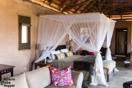 The luxurious presidential suite of Royal Zambezi Lodge