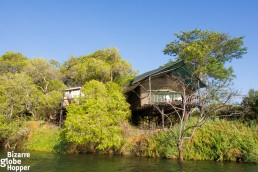 Islands of Siankaba is a luxury lodge on a private island near Livingstone