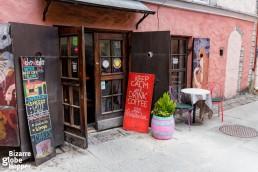 Kehrwieder Cafe, Tallinn Old Town, Estonia.