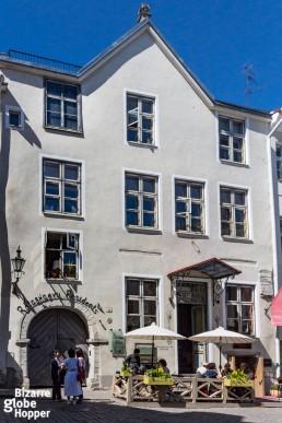 Rataskaevu, Tallinn Old Town, Estonia.