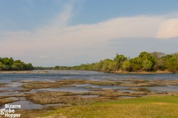 The amazing view to Kafue River from Mayukuyuku Tented Camp