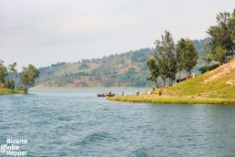 Boat trip on Lake Kivu showcased the rural idyll of Rwanda and DRC