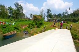 Sailing on the explosive Lake Kivu from Kibuye to Kamembe