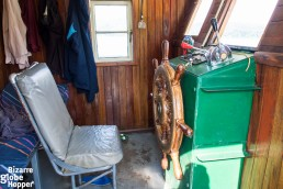 Public boat's cabin