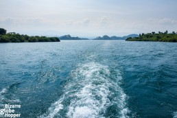 Sailing through the explosive waters of Lake Kivu