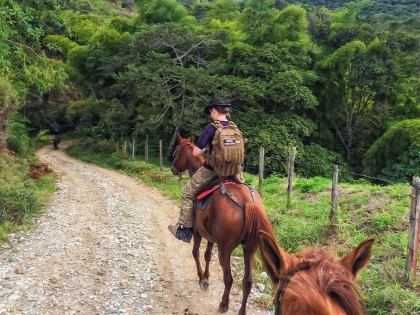 Chasing the 5000-Year-Old Statues on Horseback in San Agustín, Colombia