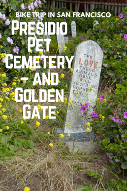 Presidio Pet Cemetery is the final resting place for military pets in San Francisco.