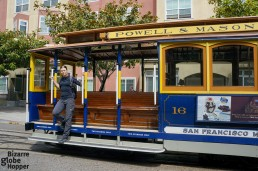 Riding the cable cars of San Francisco