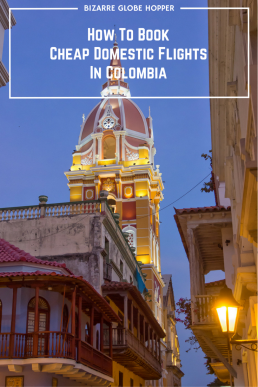 Book domestic flights in Colombia at dirt cheap local prices!