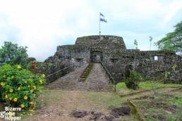 The Spanish fortress of El Castillo, Nicaragua