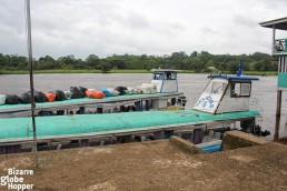 The river boats that carry passengers through Rio San Juan, all the way from San Juan de Nicaragua to San Carlos