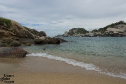 Even during the day, it's easy to find secluded coves away from Cabo San Juan del Guia