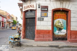The legendary Cafe Havana, Cartagena