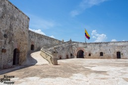 Castillo de San Fernando on Tierrabomba island, Cartagena