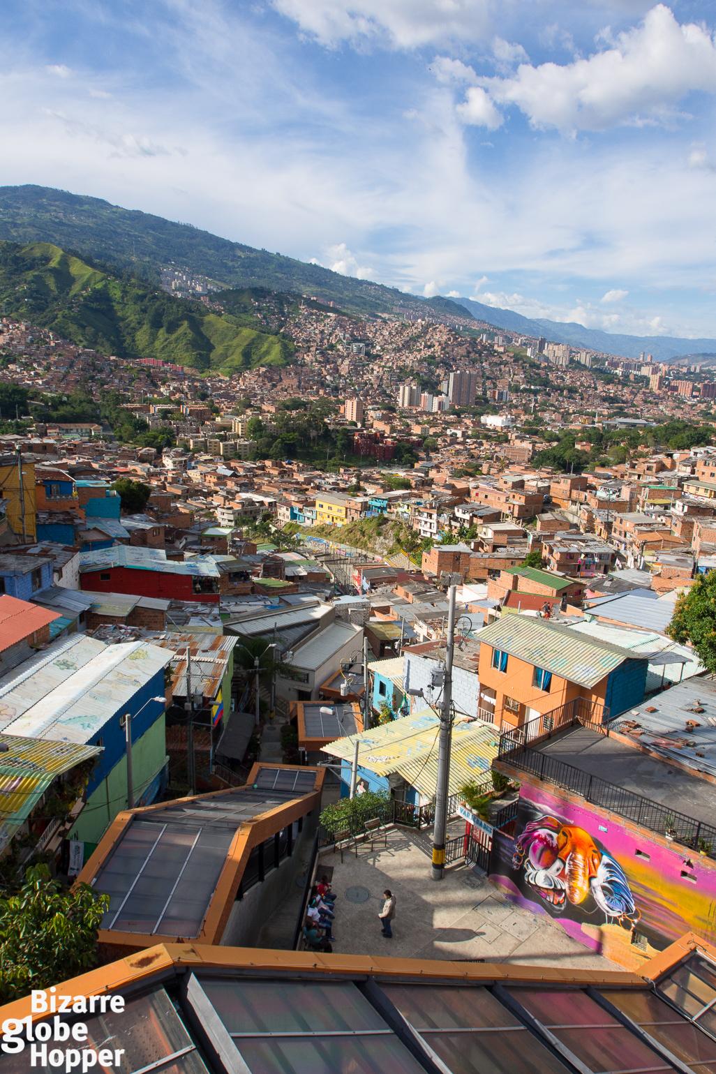 Escalators To Heaven Visiting Comuna 13 Medellin The