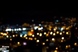 The blurry lights of Medellín