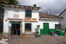 Santamaria Cafe borders Plaza del Chorro de Quevedo, La Candelaria