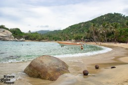 Upon the green hills of Tayrona National Park lurk the ruins of the ancient civilization, Tairona people