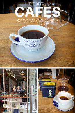 The hipster cafes of Bogotá serve some of the best coffee in the world. Stop by at one of the cafe gems to sniff out the cool vibes of Bogotá!