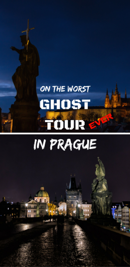 The Day We Were On the Worst Ghost Tour in Prague. But we may have caught a strange phenomenom on the video. Read our report and see for yourself!