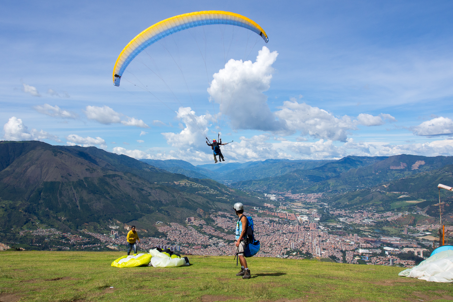 Paragliding Upon the Hills of Medellin, Colombia | Bizarre