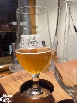 U Kunstatu's beer sampler – craft beer heaven!