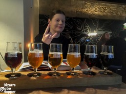 Czech craft beer tasting in U Kunstatu, Prague