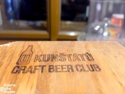 Join the craft beer club in U Kunstatu, Prague