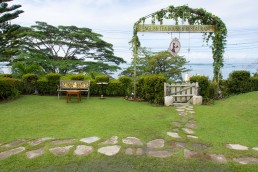 English Tea House is a surprising find in Malaysian Borneo. Tucked away upon a hill overlooking Sandakan Bay, English Tea House boasts a croquet lawn and spectacular views towards the Sulu Sea and islets guarding the coastal town.