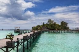 Lankayan Island in Sabah, Malaysian