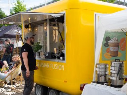 Yet another street food stall at Craft Beer Helsinki