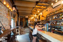 The favorite of expats and tourists alike: Drunk Monkey Old Street Bar