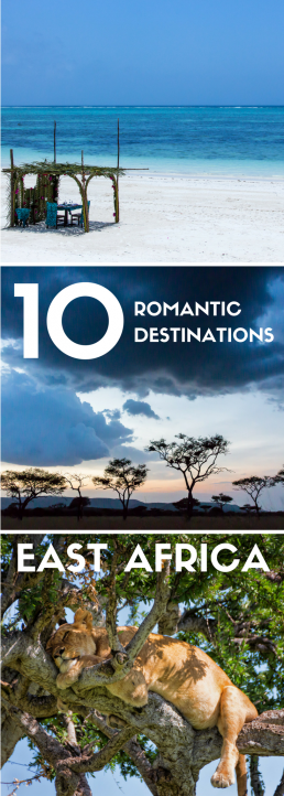 These romantic destinations in East Africa will spoil you with secluded beaches, private safaris and UNESCO World Heritage Sites. Enjoy the luxurious safari lodges and let East Africa steal your heart!