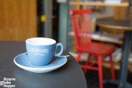 Riga's Zvaigzne Cafe serves specialty coffee from Atkinsons roastery