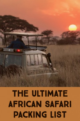 Wondering what to pack for a safari? Check out our ultimate African safari packing list and get excited about your adventure! #safari #packinglist #Africa